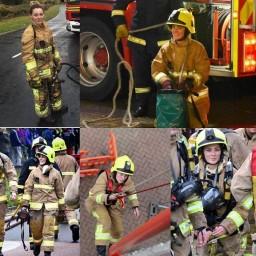 Женщины пожарные