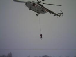 Учения Лидер 4 на вертолете
